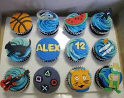 Cupcake Ideas For Boys Birthday Party