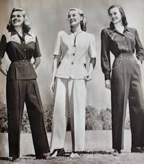 1940s Work Suits For Women
