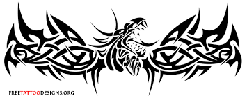 Goth Tribal Dragon Tattoos Pictures To Pin On Pinterest