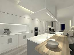 led lights for kitchen ceiling with additional pendant