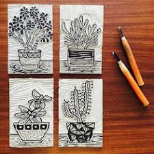 2552 Best Wood And Lino Cuts Images On Pinterest