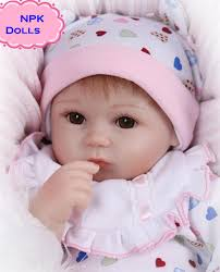 New Hot Sale NPK Real Silicon Baby Dolls About 18inch Lovely Doll