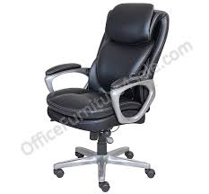 serta outlet smart layers air arlington executive chair black