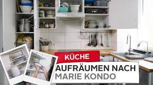 küche ausmisten organisieren aufräumen nach kondo otto