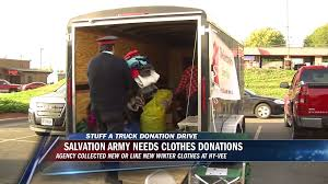 Salvation Army Hosts 'Stuff The Truck' | Video Gallery ...