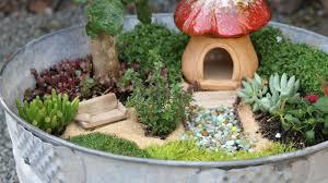 Disney Fairy Garden Decor by 12 Diy Fairy Garden Ideas How To Make A Miniature Fairy Garden