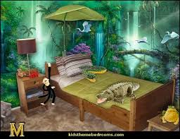 Jungle Theme Toddler Bedroom Decorating Ideas