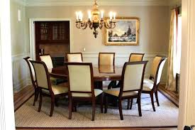 Round Table For 10 Dining Tables Large Seats