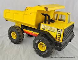 VTG 1980s Tonka Toys Tough Turbo Diesel Big Dump Truck Pressed Steel ...