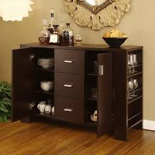 Dining Room Wine Sideboard Buffet Server With Hutch Credenzas And Buffets Sideboards