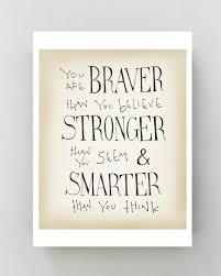 Winnie The Pooh Disney Movie Quote Poster Inspirational Art Typographic Print Kids Wall Nursery