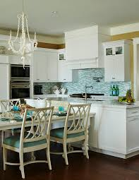 Turquoise Kitchen White And Coastal With