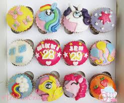My Little Pony Strawberry Cupcakes gluten free & dairy free