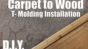 Transition Strips For Laminate Flooring To Carpet by How To Fix A Carpet To Wood Floor Seperator T Mold Flooring