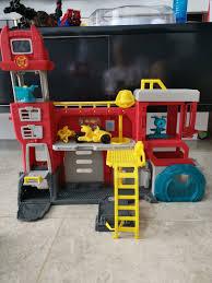 Transformer Rescue Bots Fire Station, Babies & Kids, Toys & Walkers ...
