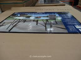 Kirkland Wicker Patio Furniture by Kirkland Signature 50 Inch Patio Table