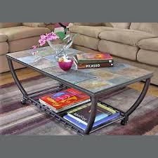 awesome slate tile end table images monikakrl info