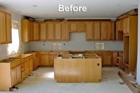 Refinishing Oak Cabinets Oak Cabinets To White Enamel With Glaze