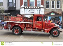 100 First Fire Truck Engine With Custom Cab Editorial Image Image Of Hood