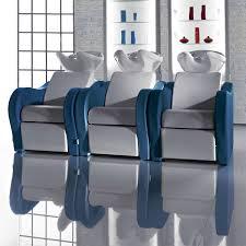 salon ambience wu128 luxury sofa salon sink and 2 chair combo