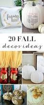 Dryer Vent Pumpkins by 20 Diy Fall Decor Ideas The Mom Creative