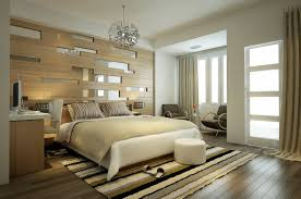 Modern Stripes Bedroom Decoration Idea Source Home Designing