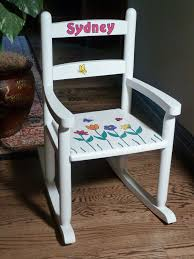 White 2-Slat Personalized Rocking Chair In 2019 | DIY Furniture ... Kids Wooden Rocking Chair 20 Best Chairs For Toddlers Childs Hand Painted Personalized For Toddler Etsy Up Bowery How To Choose Rafael Home Biz Rocking Chair Childs Hand Painted Girls Odworking Projects Plans Milwaukee Brewers Cherry Finish Upholstered Fniture Cute Sullivbandbscom Baby Child