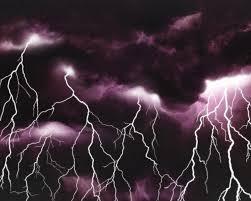 Drawn Lightning Storm 14