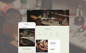 Barber Shop Hair Design Ideas by Barber Shop Website Template