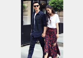 Huang Xiaoming And Angelababy Spotted In Paris