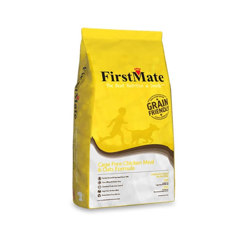 FirstMate Pet Foods Dog Food - Chicken Meal and Oats, 5lbs