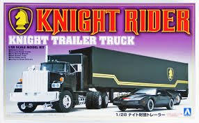 Aoshima 30660 Knight Rider Trailer Truck 1/28 S | PlazaJapan