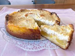 rezept für ananas fleckerl kuchen mit kokoshaube