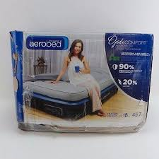 Aerobed With Headboard Uk by Aerobed Aerobed Opticomfort Queen Air Mattress With Headboard