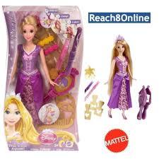 Disney Rapunzel Doll Draw N Style Hair BDJ52