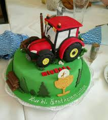 traktor torte zur erstkommunion motivtorten torten