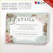 Invitation Card Template With Curly Border And Damask