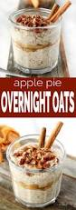 Pumpkin Pie Protein Overnight Oats by Apple Pie Overnight Oats Simply Sissom