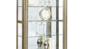 Pulaski Oak Corner Curio Cabinet by Alluring Illustration Compelling Beautiful Joss Amazing Compelling