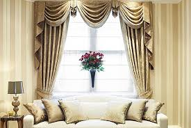 Swag Curtains For Living Room by Curtains And Drapes Styles Decorate The House With Beautiful
