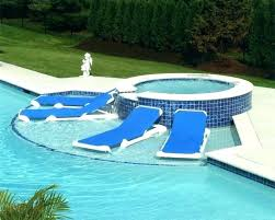 In Water Lounge Chairs Pool S Inflatable
