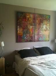 toile chambre positiv un tableau abstrait en tête de lit le de sosso