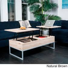 Kalson Round Coffee Table With Tray Top