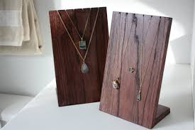 Handmade Wooden Necklace Display Stand By ShopErinMichele On Etsy