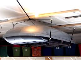 Best Kayak Ceiling Hoist by Most Garages Have Quite A Bit Of Overhead Space That Can Be Used