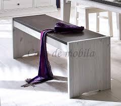massivholz sitzbank 160cm kiefer holzbank küchenbank weiß 2farbig