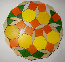 Penrose Tiling Golden Ratio by Pattern Block Dodecagon Tiling Pinterest Pattern Blocks And