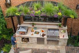 Garden Kitchen Ideas 75 Beautiful Small Outdoor Kitchen Design Houzz Pictures