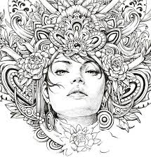 Mystic Wip Illustration Drawing Beauty Sketch Lineart Beautiful ColoringIndonesia MysticMeditationSketchesDrawingsIllustrationsBeautyBeautiful