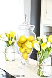 Easy Easter Table Decorations Ideas Best On Yellow Home Decor